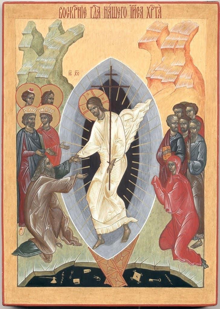 Пасха 2017: Икона Воскресения Христова
