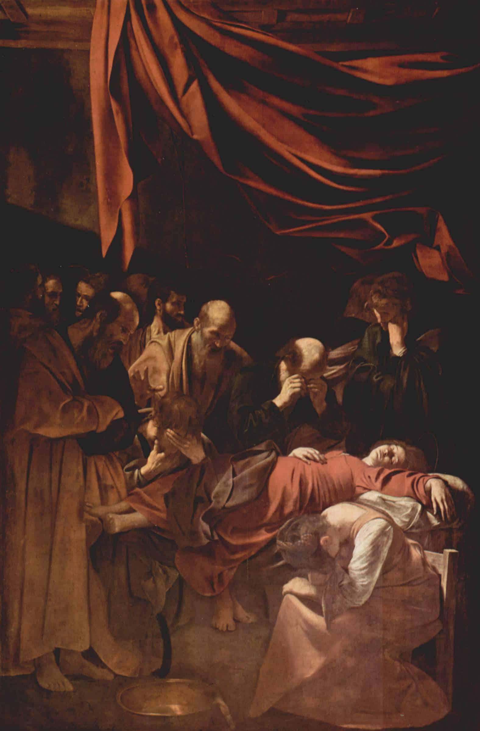 Успение Богородицы. Микеланджело Караваджо