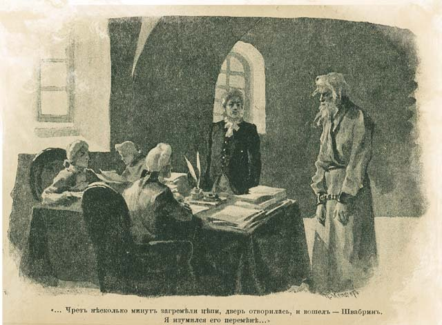 сочинения на тему капитанская дочка а.с.пушкина пугачёв