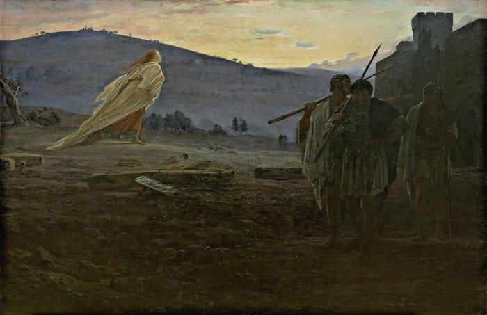 Вестники Воскресения. 1867 г. ГТГ