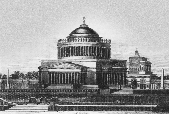 Храм Христа Спасителя по проекту А.Л.Витберга