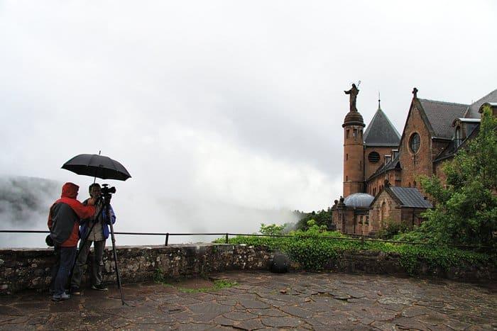 Монастырь святой Одилии. Эльзас, Франция