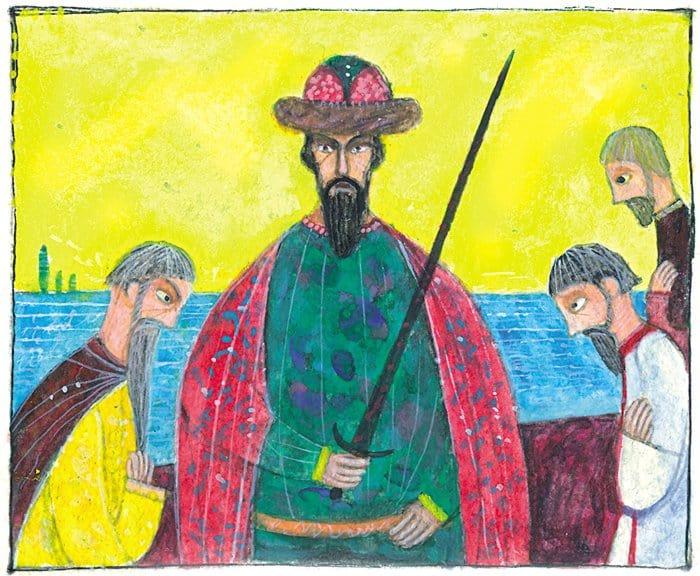 Святые князья Борис и Глеб: в картинках