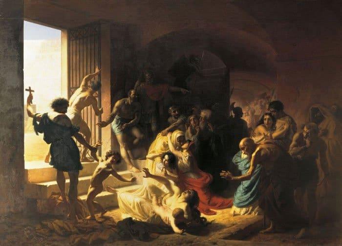 К.Д. Флавицкий. Христианские мученики в Колизее. 1862