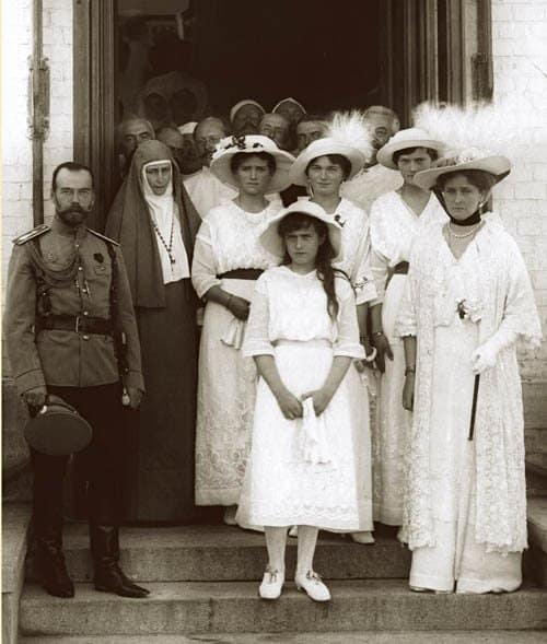 В кругу императорской семьи 7 августа