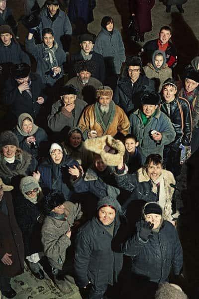 Репортаж со съемок Тео Ангелопулоса в Темиртау. 2007–2008 г