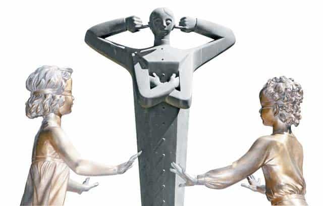 «Памятник порокам. Равнодушие» Фрагмент. Скульптор Михаил Шемякин. Фото Владимира Ештокина