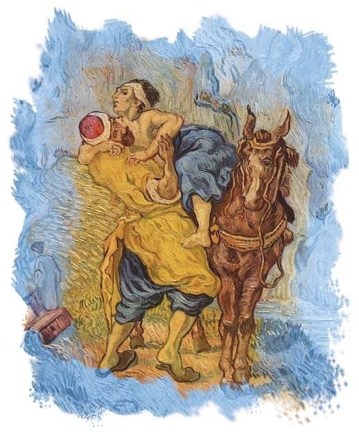 «Добрый самарянин».Винсент ван Гог, 1890 г.