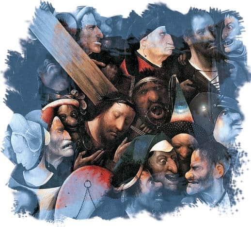 «Несение креста».Иеронимус Босх, 1516 г.