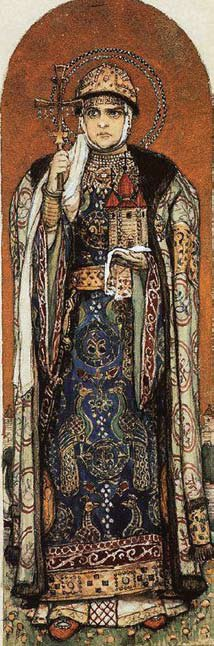 В. М. Васнецов. «Княгиня Ольга».1885 г.