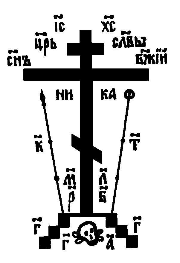 Просто крест. Храм святого Николая