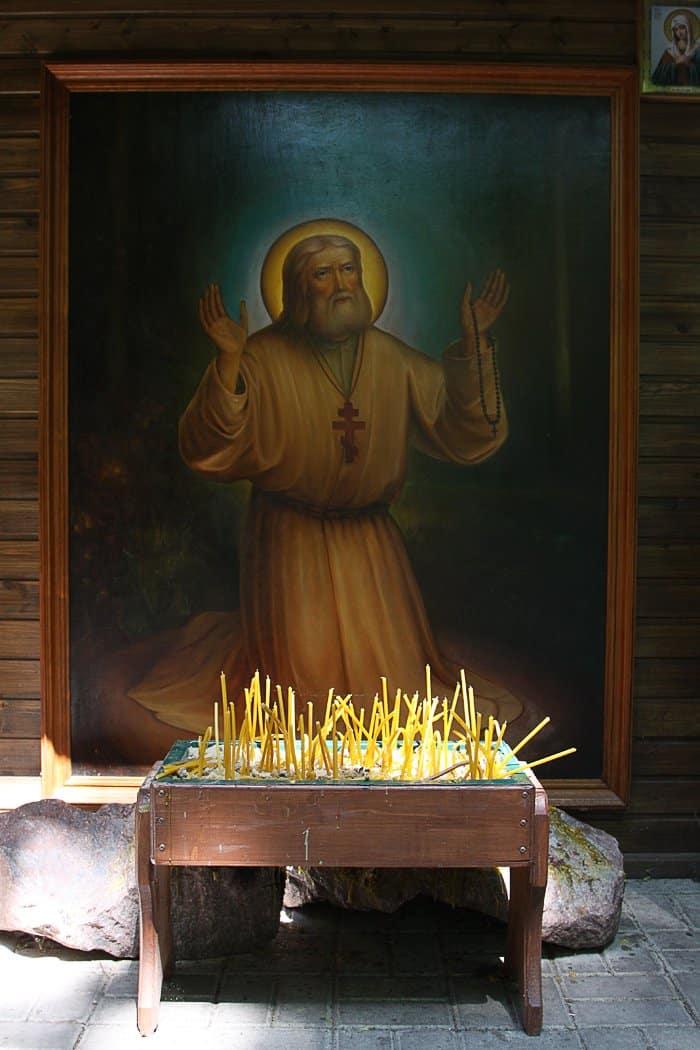 Свечка в церкви