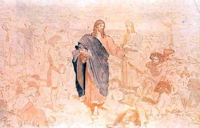 Начало апостольского служения, умножение хлебов и хождение по воде (Мк 6)
