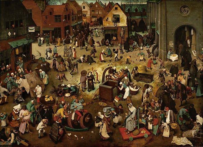 Питер Брейгель Старший. Битва Масленицы и Поста. 1559