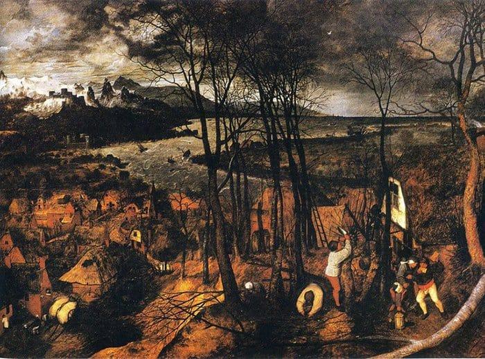 Пасмурный день. 1559
