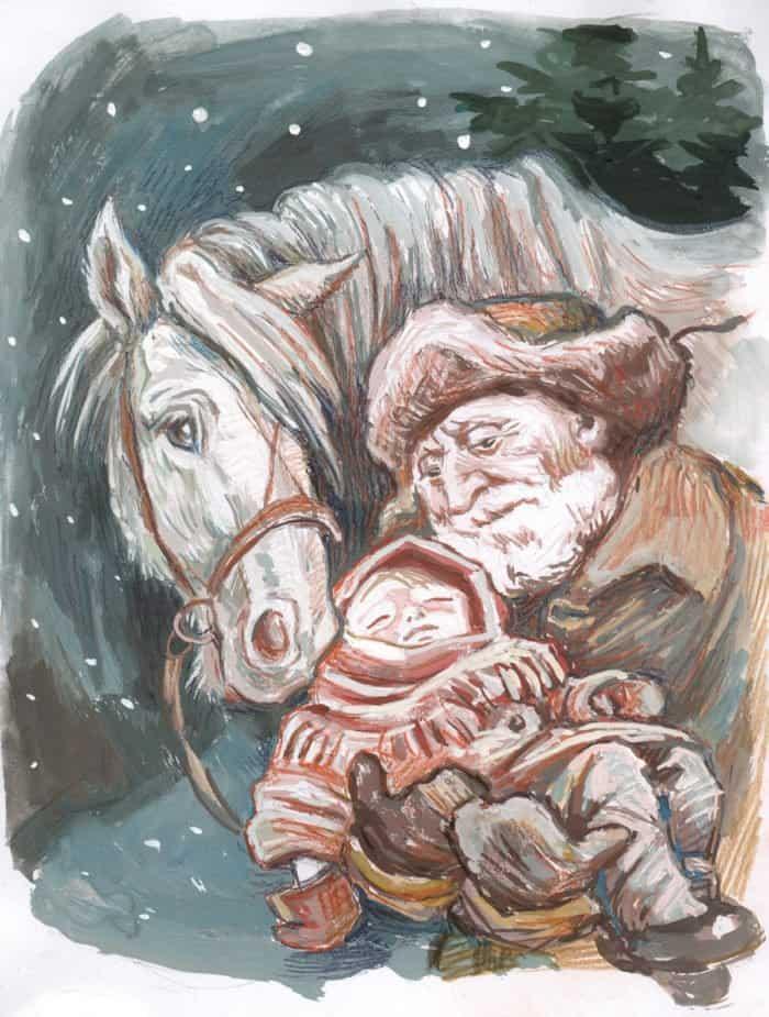 Рождественская лошадка. Рассказ-быль