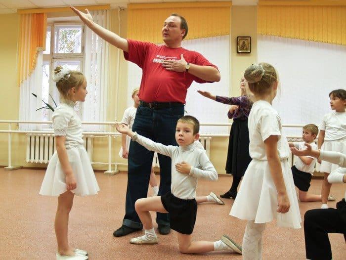 Занятия по хореографии