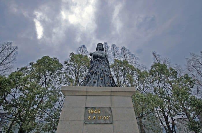 Парк мира в Нагасаки. Фото k-g