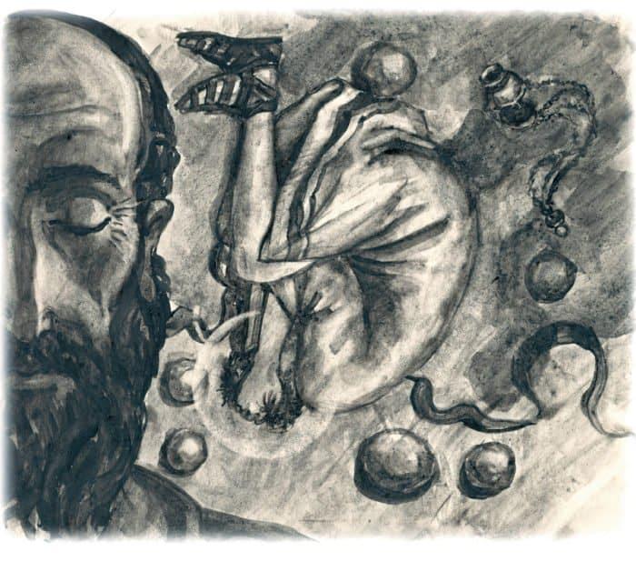 Апостол Павел. РисунокАртема Безменова