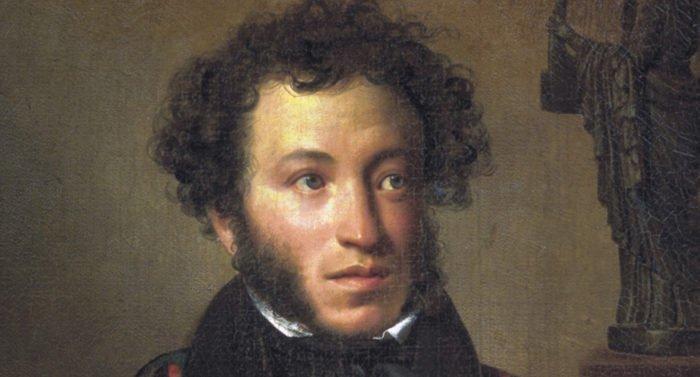 Александр Пушкин, портрет работы О. А. Кипренского.