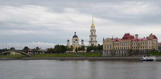 СПАСО-ПРЕОБРАЖЕНСКИЙ СОБОР в городе Рыбинске, Ярославская область