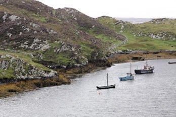Знаменитые суденышки – курраги – до сих пор используют ирландские рыбаки. Фото Владимира Ештокина