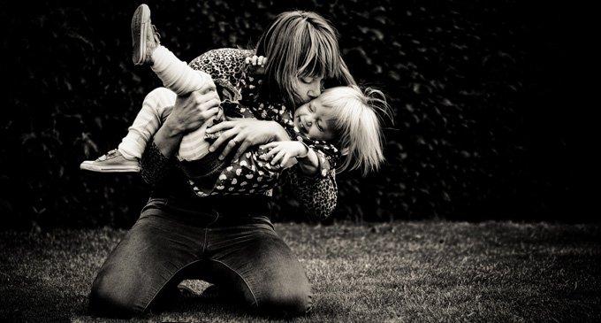 Поцелуй матери