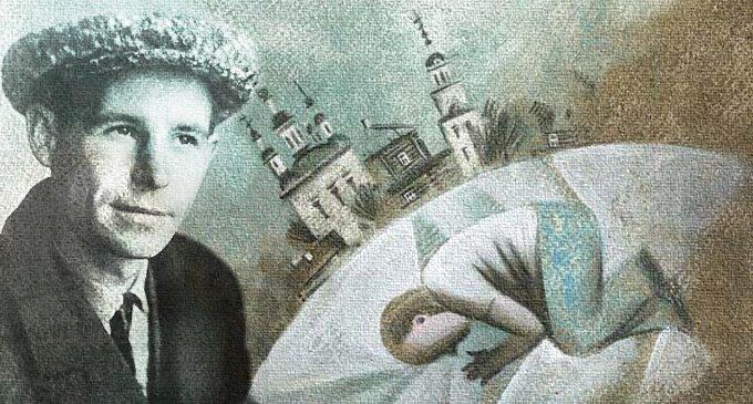 Николай Рубцов. Рисунок Марии Заикиной
