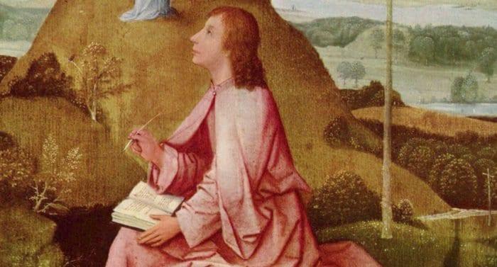 Ученики: апостол Иоанн Богослов