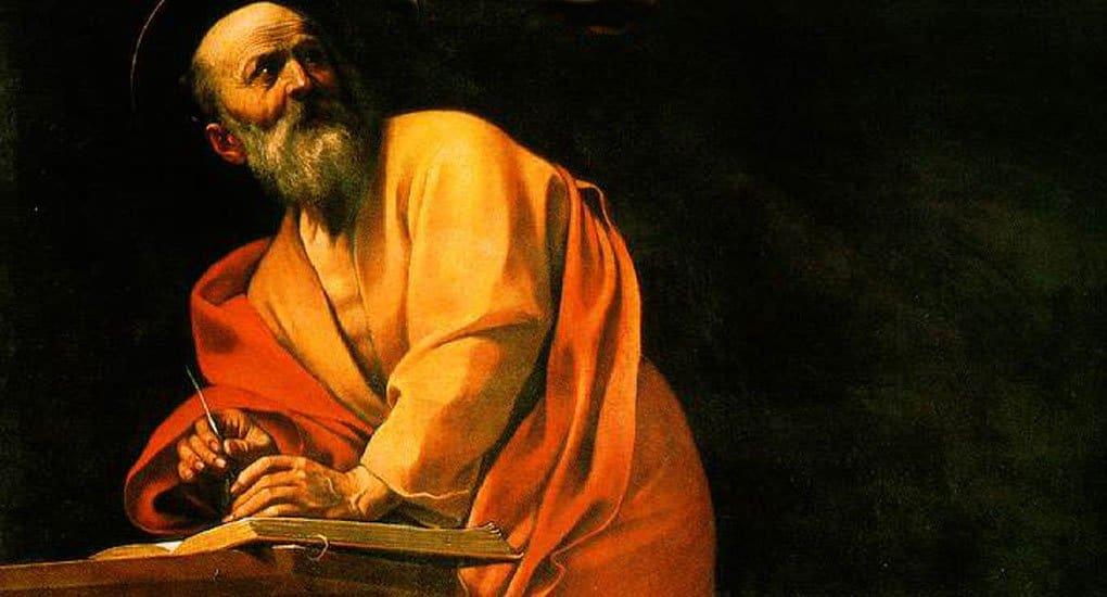 Караваджо, «Святой Матфей и ангел»
