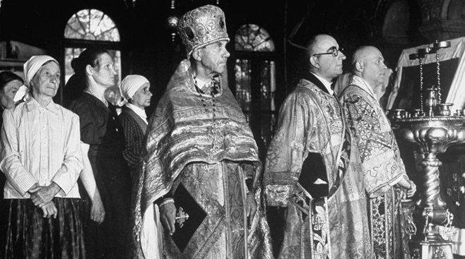 Начало движения церковных обновленцев