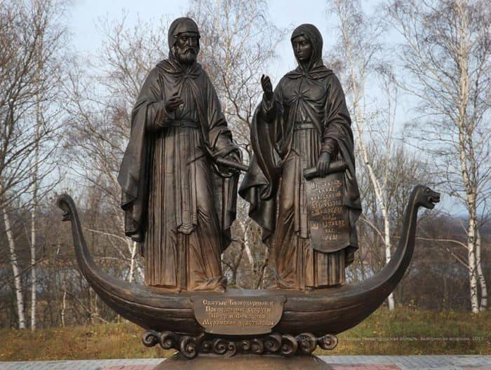 Петр и Феврония. Село Жайск