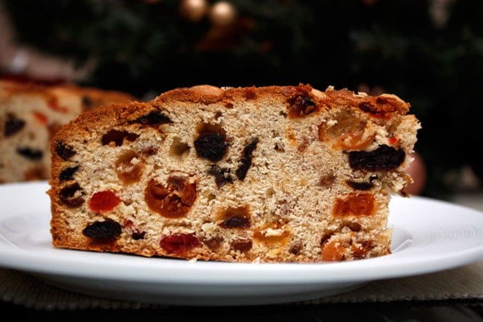 Немецкий рождественский кекс