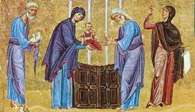 Смысл праздника Сретения