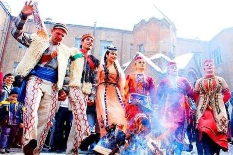 Масленица в Армении