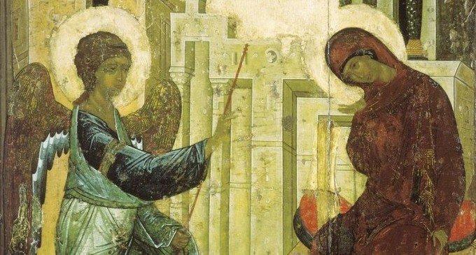 Благовещение: иконы и картины