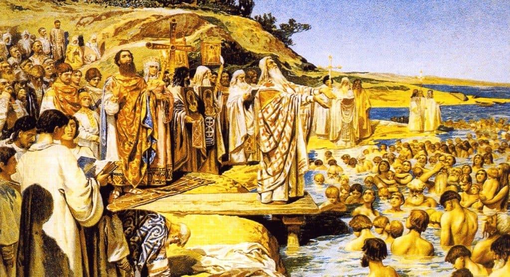 Краткий доклад о крещение руси 6851