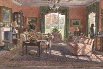 Красная гостиная. 1994