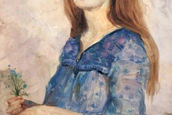 Портрет в голубом, 1998