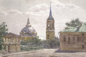 Церковь Вознесения на Гороховом поле. 2001