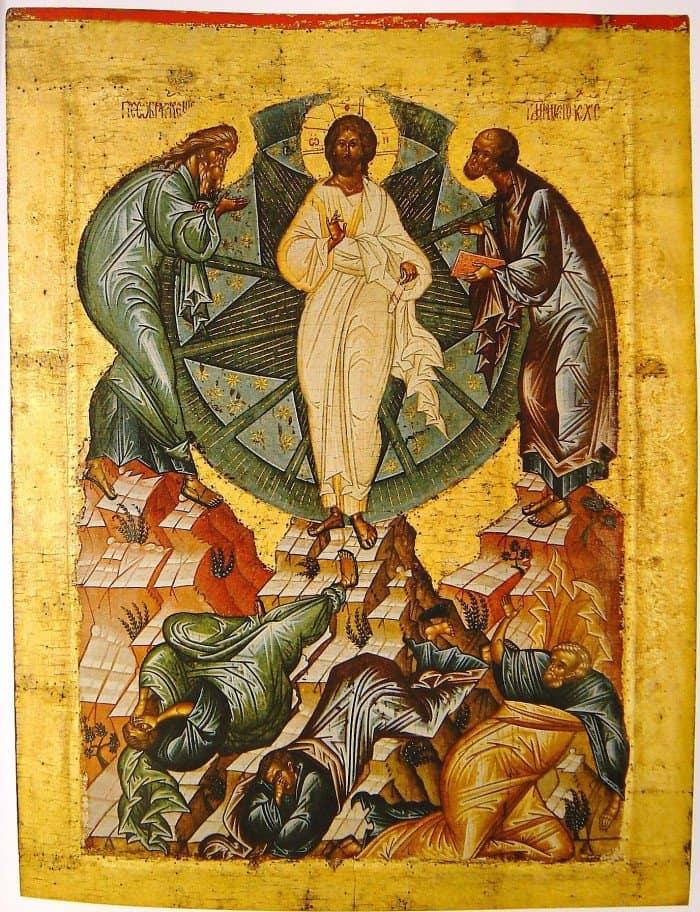 Иконография Преображения Господня