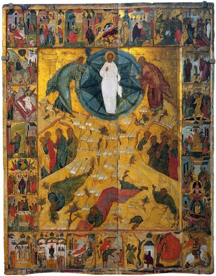 Иконография Преображение Господне
