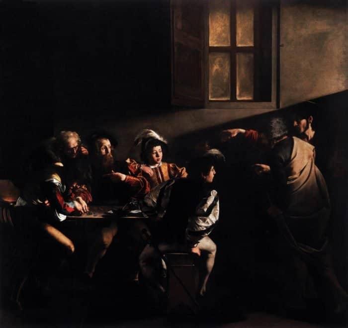 Караваджо. Призвание апостола Матфея