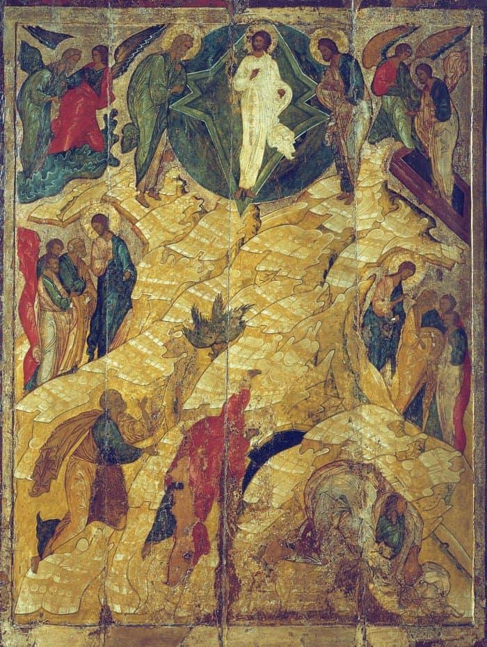 Преображение Господне. Икона.Великий Новгород. XVI в.