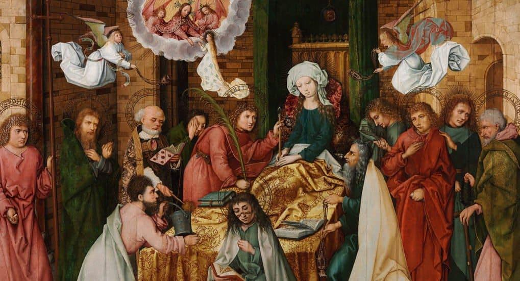 Ганс Гольбейн Старший. Успение Богородицы. 1491-1492