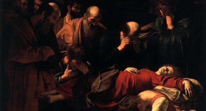 Караваджо: «Успение Марии» (Успение Божией Матери)