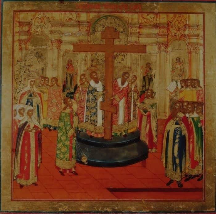 Иконография праздника Крестовоздвижения