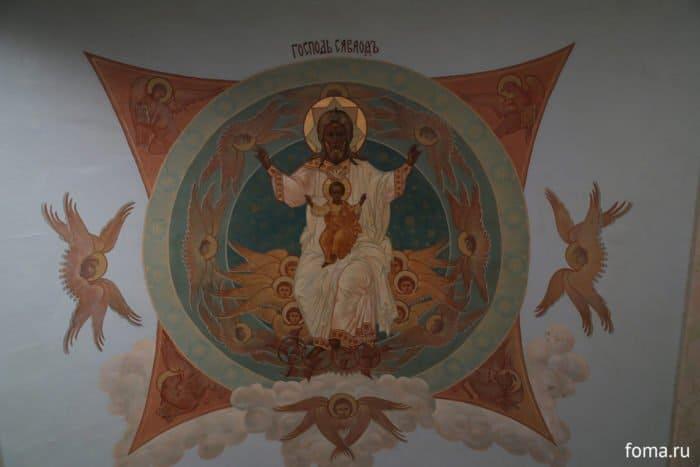 Троицкий Собор Троице Сергиева монастыря лавры в Сергиевом Посаде Фото история