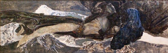Демон летящий. 1899