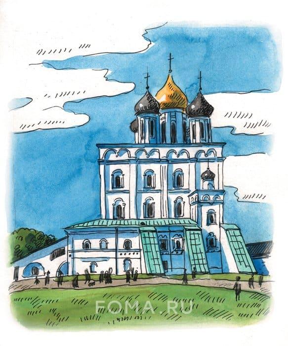 Псков: Как жил древний город?